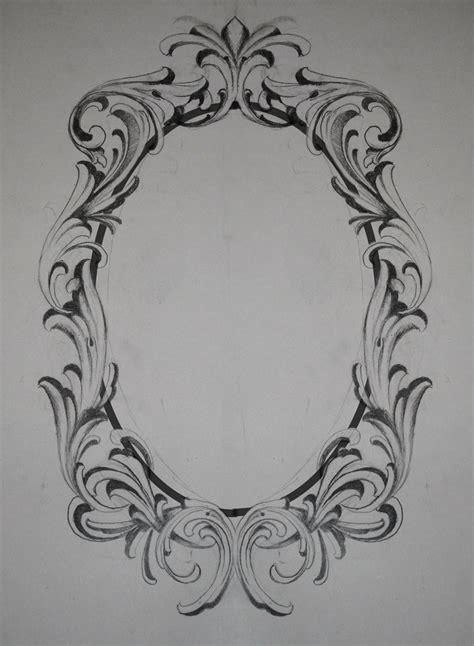 border tattoo designs filigree frame request by krishanson on deviantart