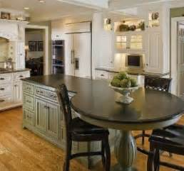 Kitchen Islands With Tables Attached Kitchen Island With Attached Table Home Sweet Home