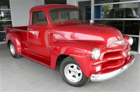 i make 35000 a year can i buy a house buy new 1954 red chevrolet 1 2 ton pick up truck old chevy truck in coolidge
