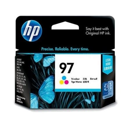 Tinta Cartridge Hp 60 Color Original Berkualitas hp tri color ink cartridge 97 c9363wn original distributor tinta printer original