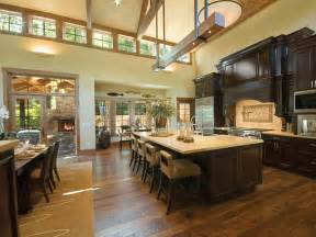 hardwood flooring in the kitchen hgtv