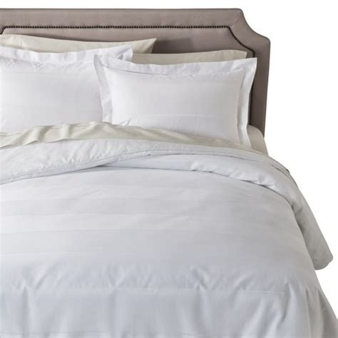fieldcrest comforter fieldcrest 174 luxury striped comforter target