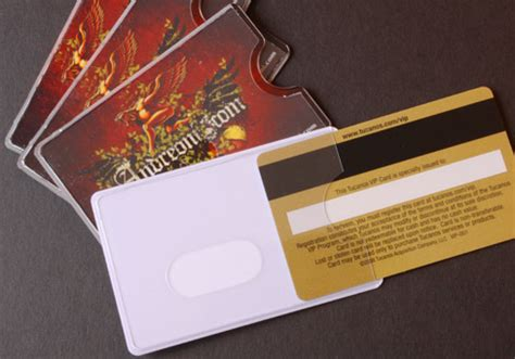 Business Card Plastic Sleeves