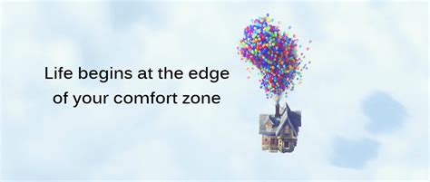 the zone of comfort life begins at the edge of your comfort zone lets create
