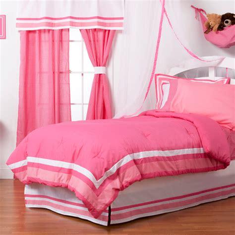 Simplicity Hot Pink Twin Comforter Contemporary Kids