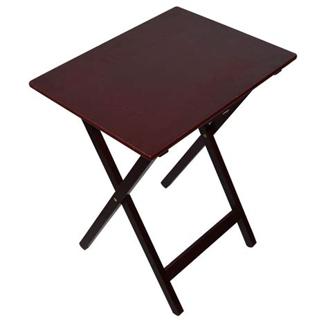 Side Laptop Table by Folding Snack Table Wooden Tv Side Laptop Coffee Tea