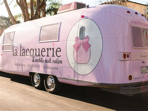 salon mobile la lacquerie mobile nail salon business insider