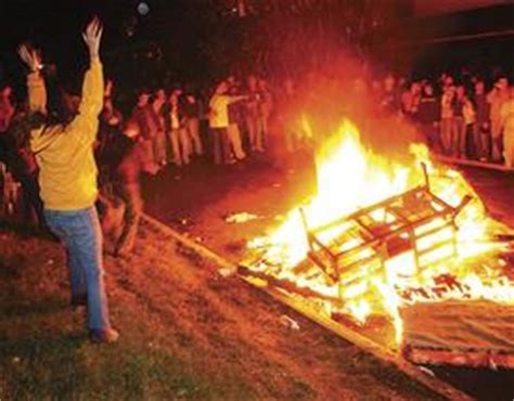 couch burning morgantown city officials plan to use home rule to curb