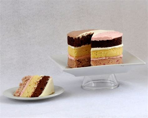 chocolate strawberry vanilla beki cook s cake neapolitan cake