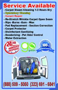 West Valley Upholstery Universal Carpet Cleaning San Fernando Valley Los