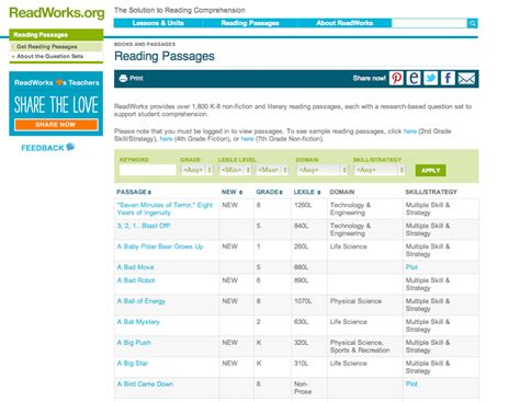 website for reading free websites for nonfiction reading passages learning