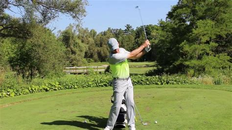 shawn clements golf swing swing too steep shallow it out easily shawn clement s