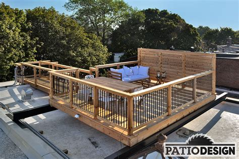 Patio Cedre by Patio Design C 232 Dre De L Ouest