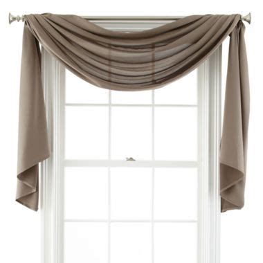 how to hang a drapery scarf 25 best ideas about window scarf on pinterest curtain