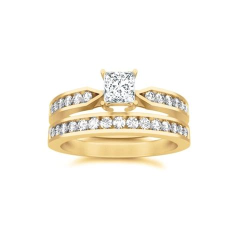 73 discount bridal sets wedding rings 2 3 ct
