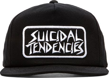 Topi Suicidal Tendencies Snapback 1 obey x suicidal tendencies collection propaganda snapback in black for lyst