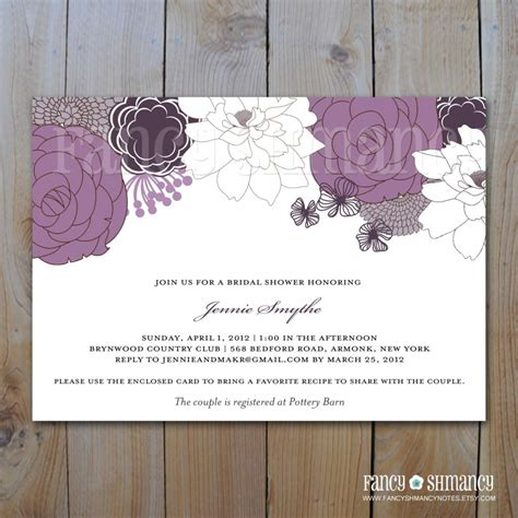 wedding shower invitation wording no gifts image