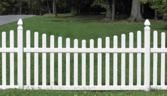 Flower Bed Fencing Dog - picket fences landscaping network