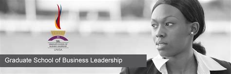 Mba West South Africa by Of South Africa School Of Business Leadership
