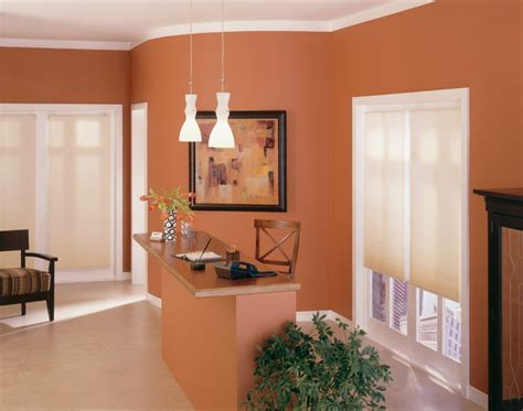 neutral shades complement any wall color contemporary home office burlington by