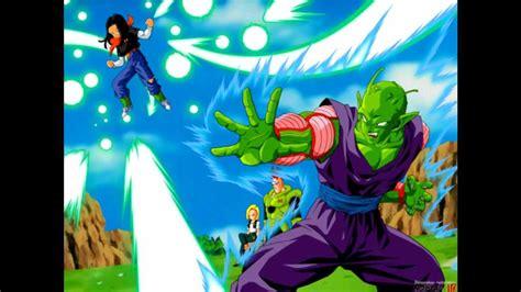 themes dragon ball z android dragon ball z quot piccolo vs android 17 theme quot edited and