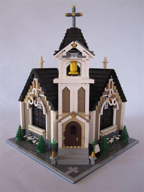 lego creator modular haus kirche moc lego haus lego