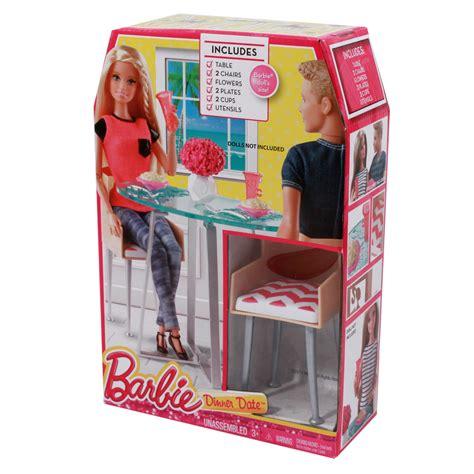 barbie dining room set barbie date night dining room set