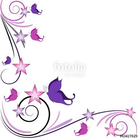 sfondi fiori stilizzati quot sfondo farfalline decorazione quot immagini e vettoriali