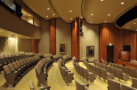 corporate auditorium renovation