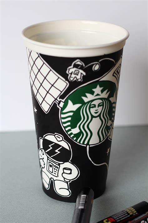 starbucks  behance