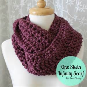 Easy Infinity Scarf Knitting Pattern Easy Crochet Infinity Scarf Myideasbedroom