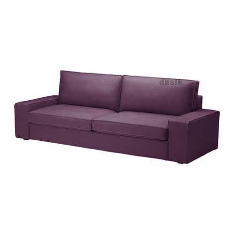 Sofa Bed Slip Cover Ikea Kivik Sofa Bed Slipcover Sofabed Cover Dansbo Lilac Purple