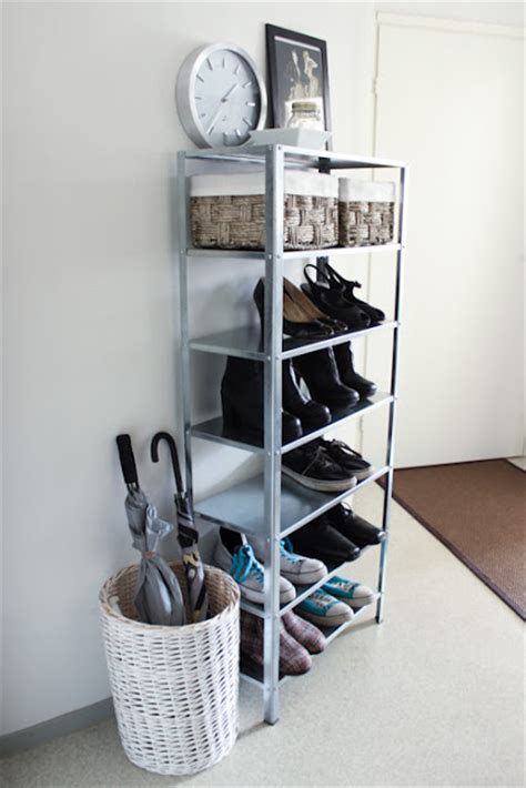 ikea shoe rack hack 11 cool and clever diy ikea hacks for entryways shelterness