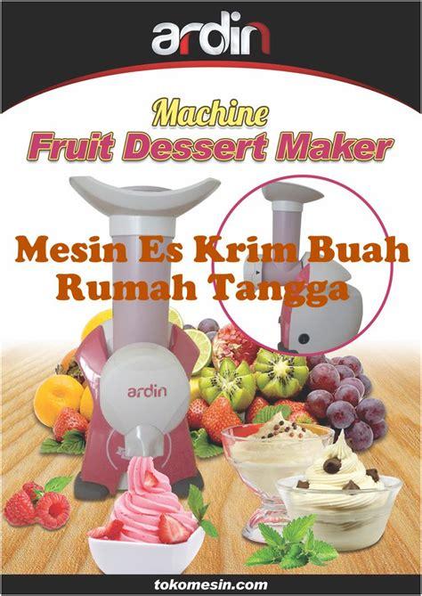 Jual Freezer Mini Untuk Es Krim jual mesin es krim buah rumah tangga di malang toko