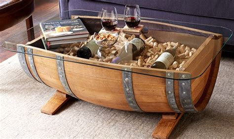 wine rack coffee table glass top wine barrel coffee table without wine racks
