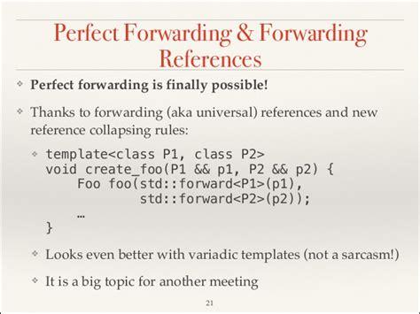 Hot C Rvalue References And Move Semantics Copyable Resume Templates