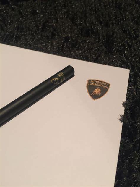 Lamborghini Writing Lamborghini Writing Set Catawiki