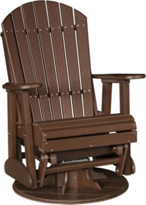 amish outdoor swivel glider chair amish outdoors adirondack outdoor swivel glider chair