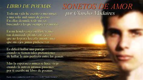 libro cien sonetos de amor libro de poemas sonetos de amor letra de libro de poemas de claudio madaires youtube