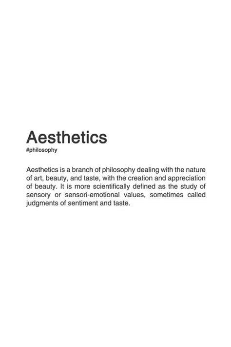 design philosophy definition aesthetics definition planet venus pinterest