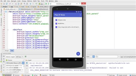 android note taking app building a note taking app for android