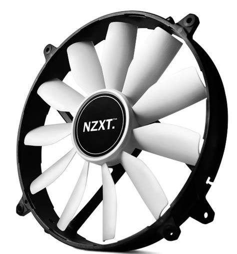 Nzxt Fs 200rb 20cm Fan Led Blue nzxt fz 200 200mm fan hits the market