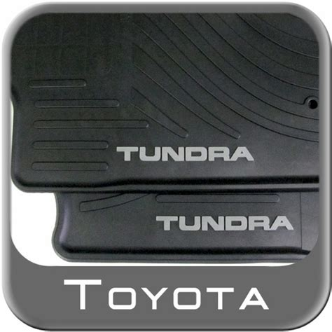 new 2010 2011 toyota tundra rubber floor mats from