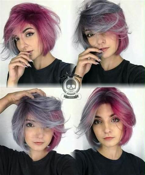 half colored hair best 25 half colored hair ideas on cotton