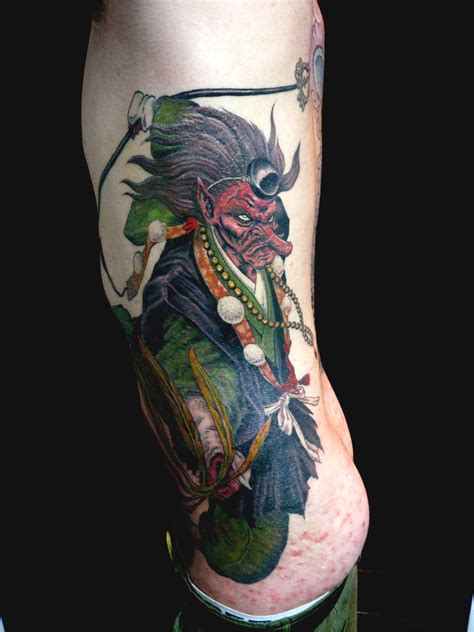 japanese tattoo kyoto tengu of kyoto bygakkin kyoto tattoo picture