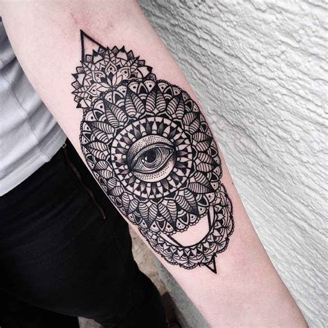 mens mandala tattoo mandala forearm best ideas gallery