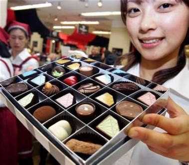 Giving Valentines Gifts In Japan And Korea by Japanese Bitter At Chocolate Duty