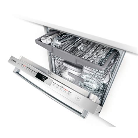 Bosch Dishwasher With Third Rack by Products Dishwashers Built In Dishwashers Shx5er55uc