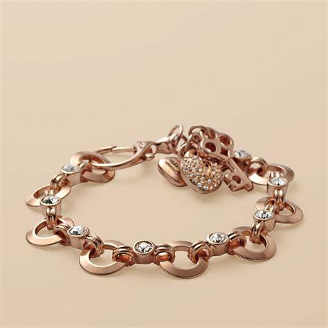 glitz charm bracelet fossil jewelry watches