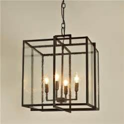 Lantern Pendant Lights Cube Frame Lantern Modern Pendant Lighting By Shades Of Light